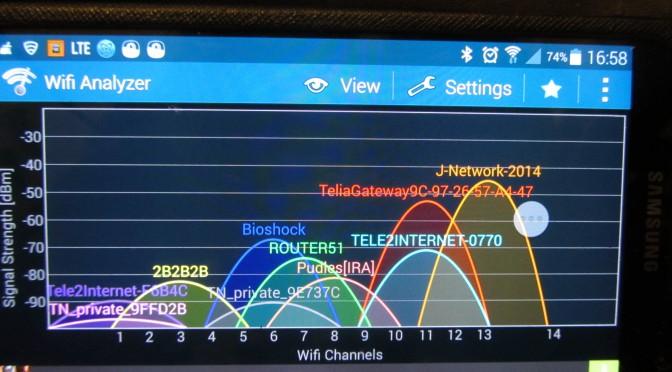 Pätkivän WiFI Verkon korjaus
