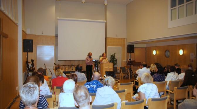 Profetia viimeisten aikojen elonkorjuusta – lähtekää työhön v.2013 Agape Sommarkonferens