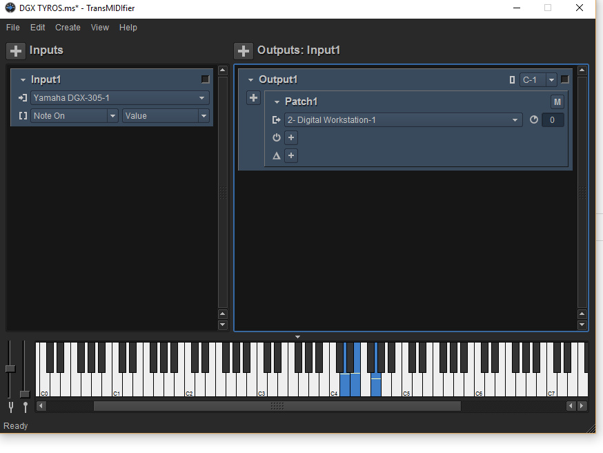 How To Connect Yamaha Dgx To Computer