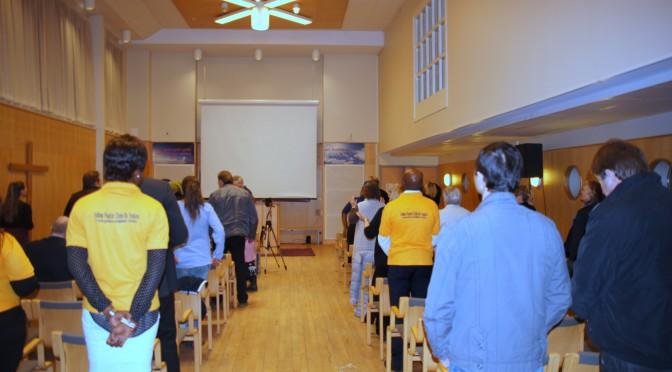 Agape: Pastor Angela of Christ Embassy & Pastor Sirpa Kemi Meeting Möte i 2015-03-15 i Live inspelning