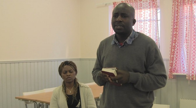 Power of faith. Davids Preaching In English 2015-04-17. Mötesvideo 32 minuter. English/Finnish, Suomeksi