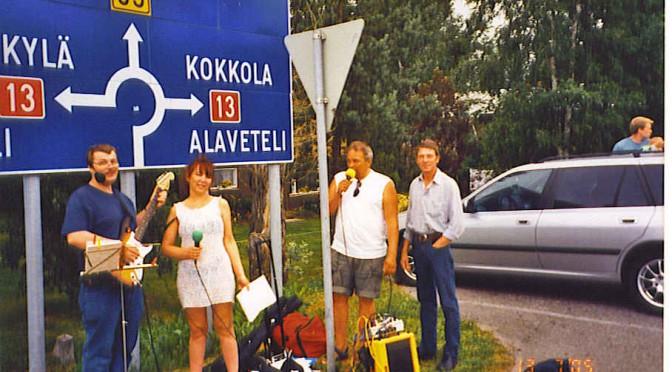 100 människor blev kristen i Kaustinen Folk Music Festival i Finland i 2005 i en vecka!