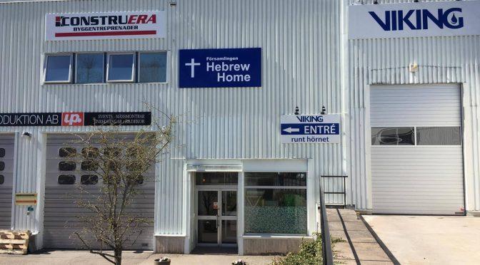 NY TID – En konferens I Församlingen Hebrew Home  Sollentuna – Arr. David B. med teamet och Hebrew Home