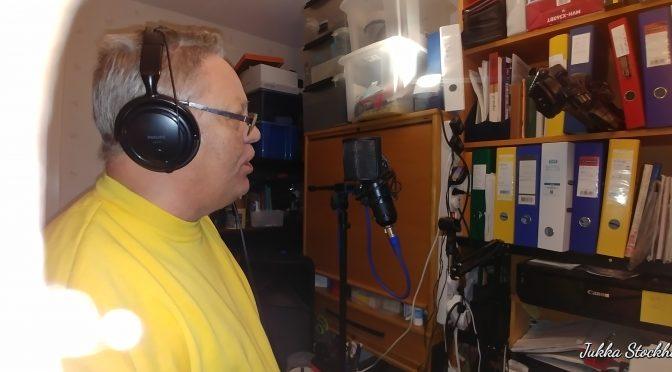 HELIGE ANDE FALL ÖVER MIG – En ny sång till svenska, MP3 två versions och Lyrik & ackord PDF med svenska & finska lyriks