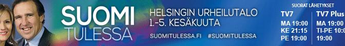 Suomi tulessa 2015  Evankelista Rodney Howard-Browne Helsingin urheilutalolla 1. – 5.6.
