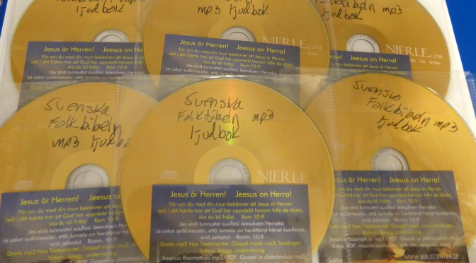 Svenska Folkbibeln NT mp3 kuunneltava äänikirja ilmaiseksi