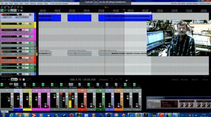 Behringer X Air X18 mikseri ja Reaper Studio
