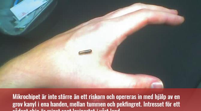 Älä ota pedon merkki mikrosirua