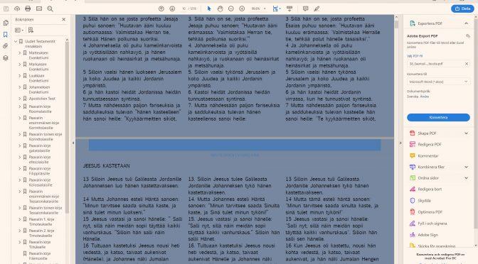 Toivo Koilo Suuri Ilosanoma UT MP3 ja PDF projekti