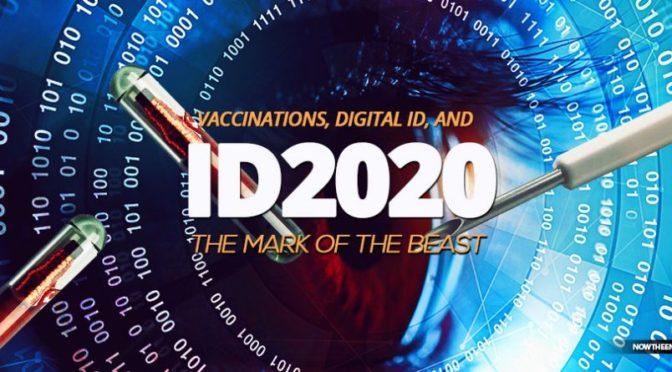"""Tuleva korona rokotus """"koodimusteessa"""" voi olla jo pedon merkki ID2020"""