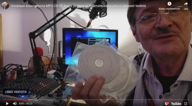 Pyydä kuunneltava Raamattu MP3 CD levy, Lataa UT MP3 Eri versioita, Yleistietoa Raamatuista ym, videotuotanto asiaa