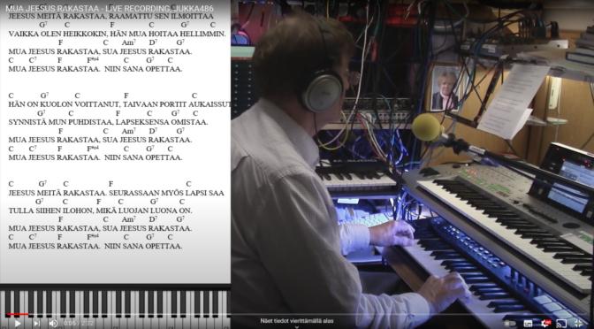 MUA JEESUS RAKASTAA – LIVE RECORDING, JUKKA486