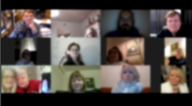 Tammikuusta 2020 alkaen Online rukous kokoontuu Zoom järjestelmässä