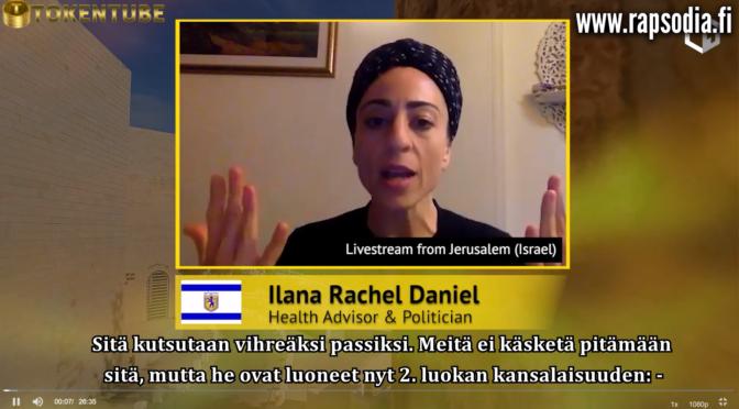 Israelissa on vakava tilanne. Rukoile ja jaa tätä, koska muuten se on kohta meillä täällä!