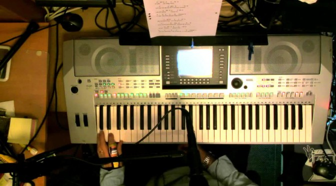 Jukka110 Worship on holy ground A Vocal harmony with a Yamaha PSR S910 Arranger keyboard