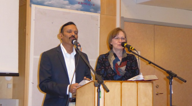 Agape Bishop Jacob Marineni India in Sweden video 20150504
