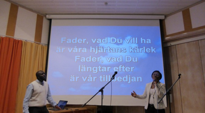 The Power of faith in Jesus. David's sermon – Trons kraft i Jesus Davids predikan Video.