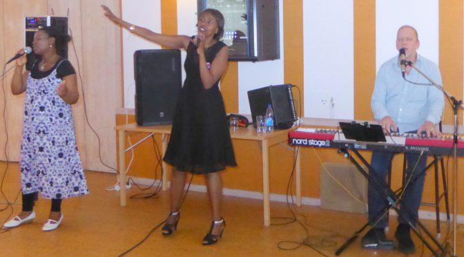 Davids Sermon predikan Joshuas och Davids secret w worship Ingemar