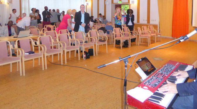Davids Sermon predikan i lördag Tillsammans för Jesus Konferens i Stockholm w worship Ingemar