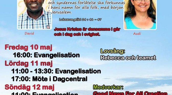 Evangelisk konferens i BRO 2019 den 10-12 Maj