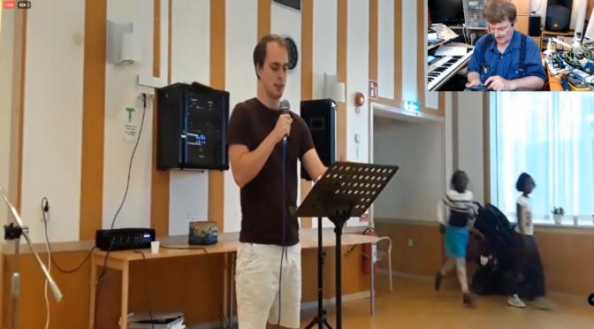 GUDS LÖFTEN: PREDIKAR Anders Tärnroth med böner och lovsånger